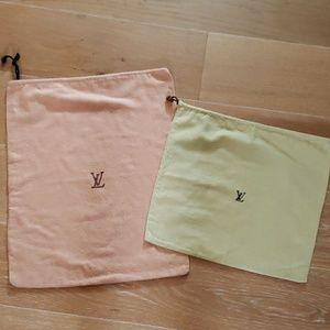 Louis Vuitton Bundle Dust Bags